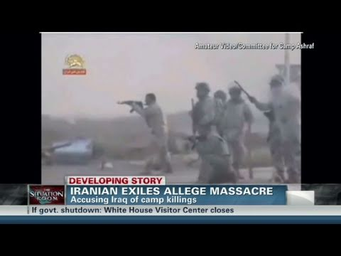 CNN: Iranian exiles allege massacre at Ashraf