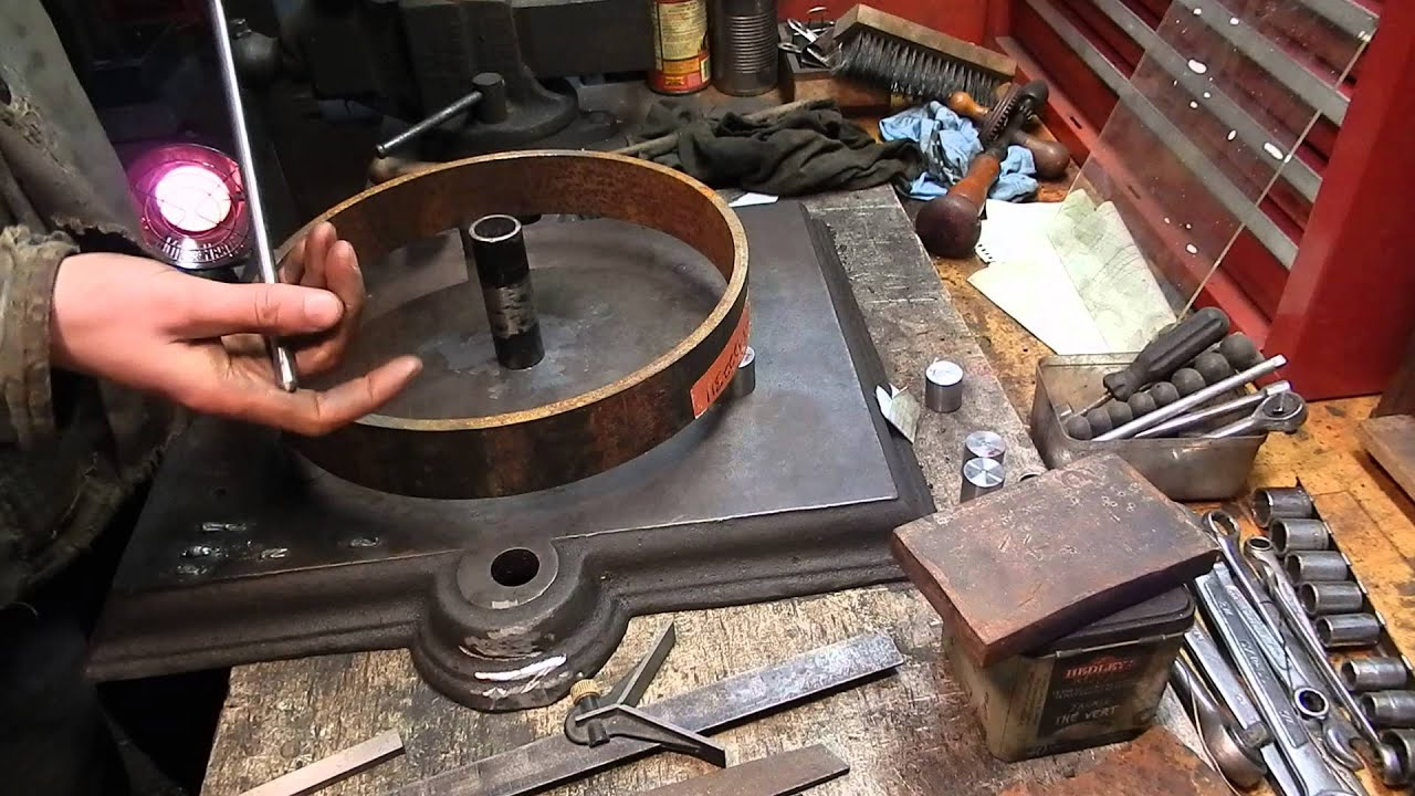 How To Make A Steel Wheel For An Engine Cart Part One