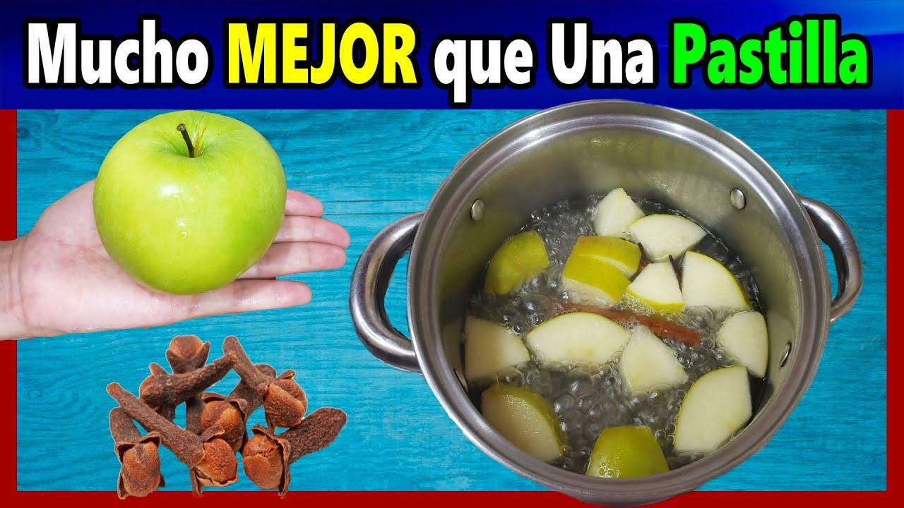 Beba Té de Manzana Verde con Clavos de Olor y quedaras sorprendida con los resultados
