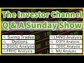 The Investor Channel Q & A #5   Swing Trade Ideas   DOCU   TDOC   COTY   FRHC   LMND   NIU