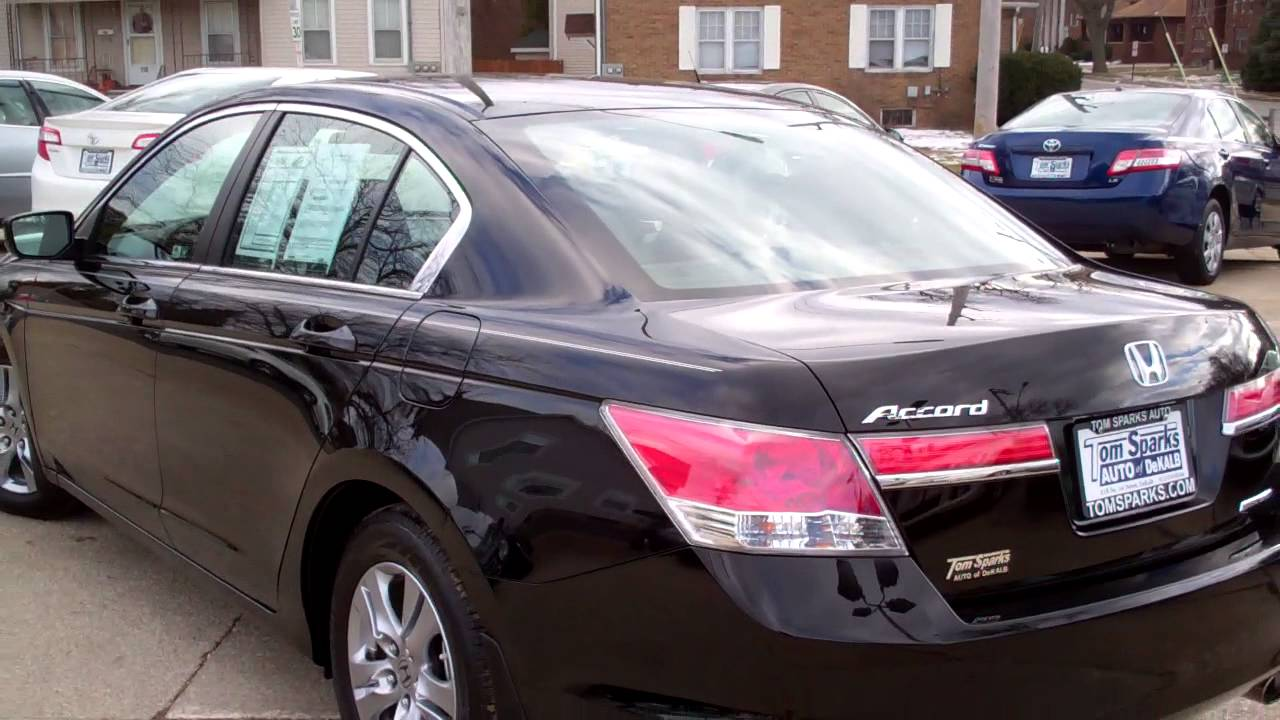 2011 Honda Accord Special Edition Dekalb Il Near Rockford