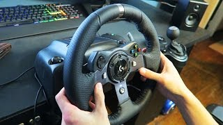 Unboxing & First Impressions: Logitech G920 Racing Wheel