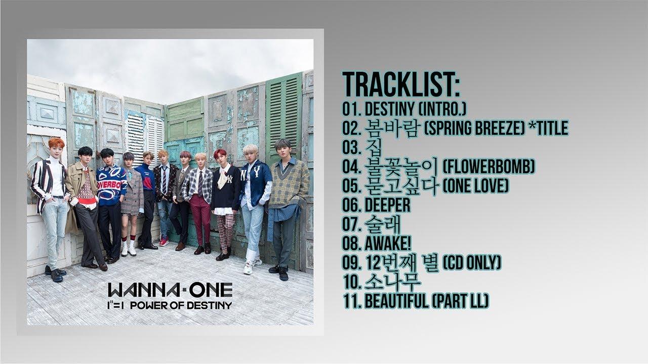 Download [Full Album] Wanna One (워너원) - 1¹¹=1 (POWER OF DESTINY)