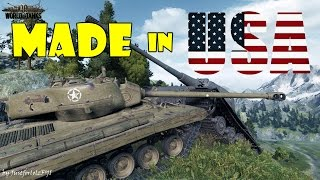 World of Tanks - Funny Moments   MADE IN USA!