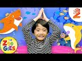 Baby Shark Dance | #ZouzouniaTV Nursery Rhymes & Kids Songs