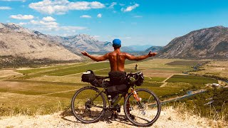 Приключение на велосипеде, часть 4. Босния и Герцеговина, Черногория, Албания, Македония