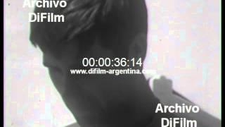 DiFilm - Nota a Hector Veira en Mar del Plata (1968)