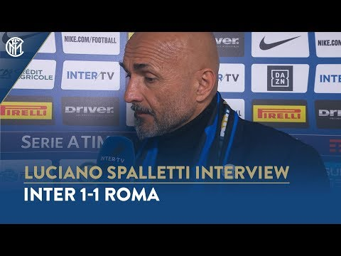 "INTER 1-1 ROMA | LUCIANO SPALLETTI INTERVIEW: ""It's a valuable point"""
