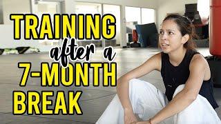 First Taekwondo Training Back After 6 Months