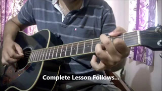 Meri Maa Guitar Lesson | Intro & Chords | Yaariyan