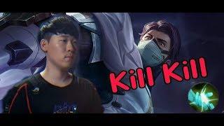 《ahq Rush 》Thai S~SS Rank Quillen Kill Kill Carry~ (傳說對決,ROV,LiênQuânMobile,AOV)