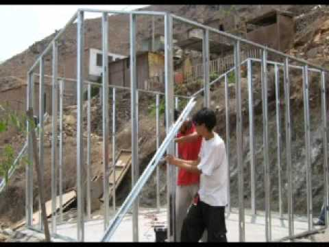 Casa De Drywall Esperanza 1 Youtube