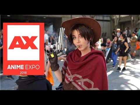Anime Expo 2018 - Awesome cosplay!!