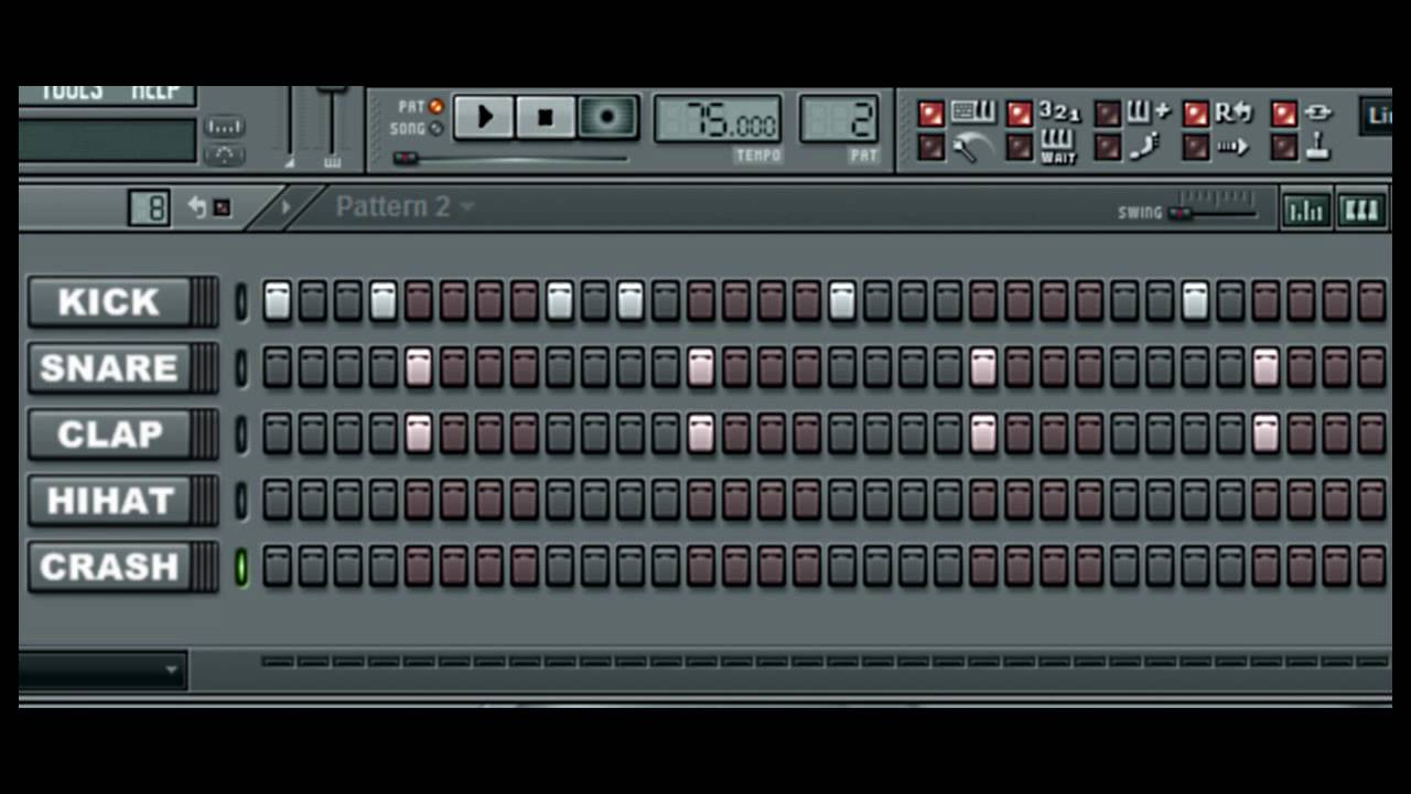 FL Studio Tutorial: Hip Hop Beat - YouTube