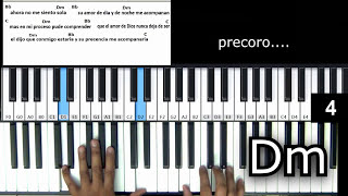que me falte todo piano tutorial completo