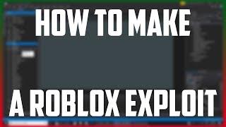 Comment faire un Roblox Exploit uI!
