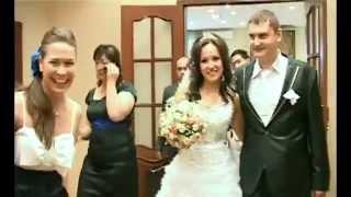 Свадьба в Москве. Московская свадьба с монтажём