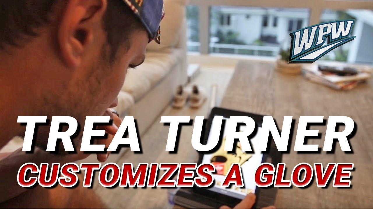 Trea Turner Creates His Next Rawlings Custom Glove