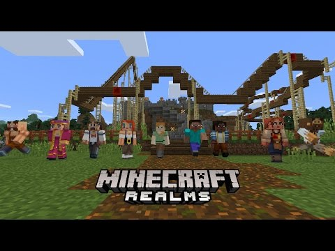 Minecraft Realms Comes To Pocket Edition & Windows 10!