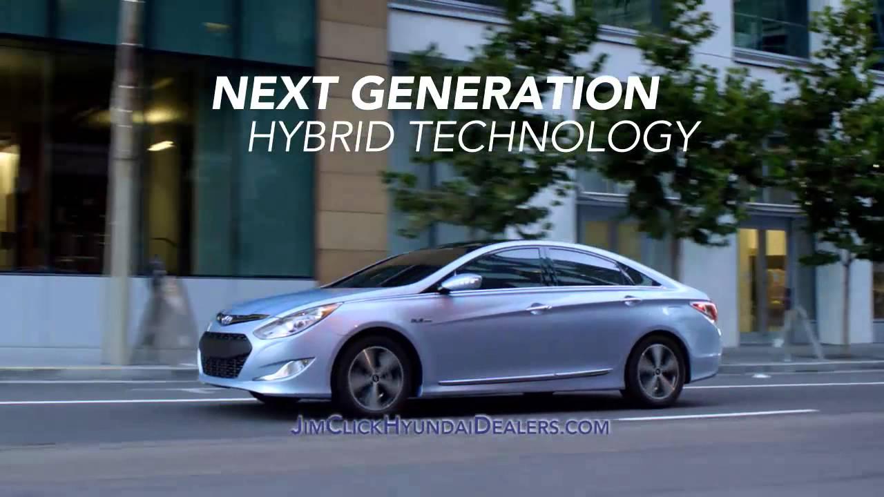 Jim Click 2014 Hyundai Sonata Hybrid - YouTube