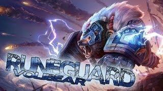 League of Legends: Runeguard Volibear (HQ Skin Spotlight)