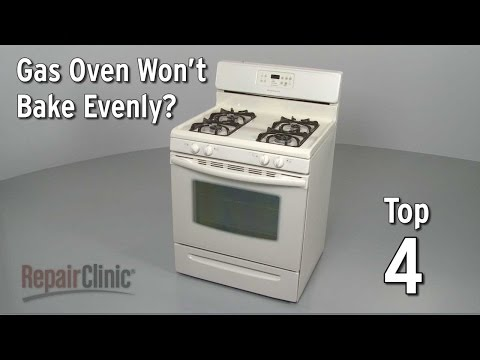 Top 4 Reasons Gas Oven Won't Bake Evenly?