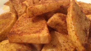 Jaffna Urulai Kilangu Poriyal/Potato Fry by Genie Mum