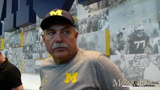 Don Brown looks ahead to Florida game