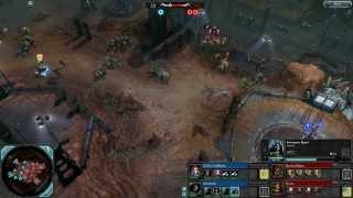 Dawn of War 2: Retribution - 2v2 | GiDDoLo + forestradio [vs] Daemon Hunter + Nyriss