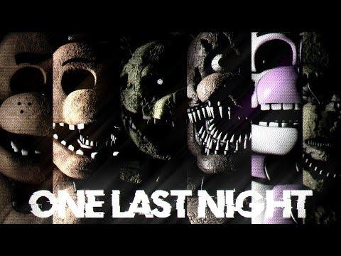 [Fnaf/SFM] One Last Night (Done)
