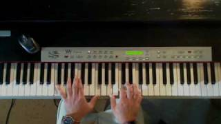 Rascal Flatts - Bless The Broken Road, Piano Tutorial, Part 2 Video