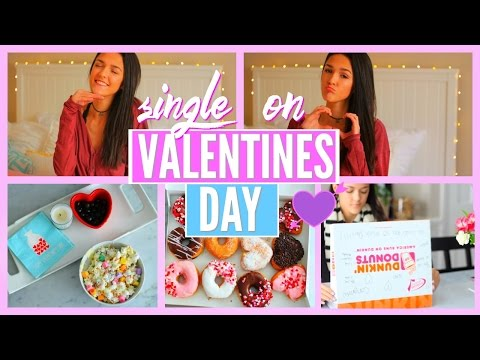 HOW TO SURVIVE VALENTINES DAY WHEN YOU'RE SINGLE || blushforbeautyxx