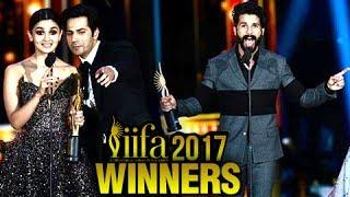 IIFA 2017 Winners | Shahid Kapoor And Alia Bhatt Win Best Actor Trophy And More