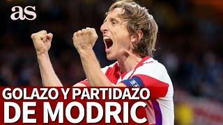 Las redes ni olvidan ni perdonan: el golazo de Modric que ha hecho a Rafa Benítez tendencia