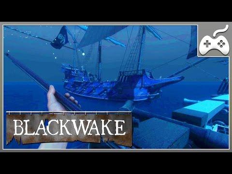 Blackwake - ЛУЧШАЯ ИГРА ПРО ПИРАТОВ. КООПЕРАТИВ