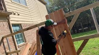 How to build a wood fence gate(the right way 2019)