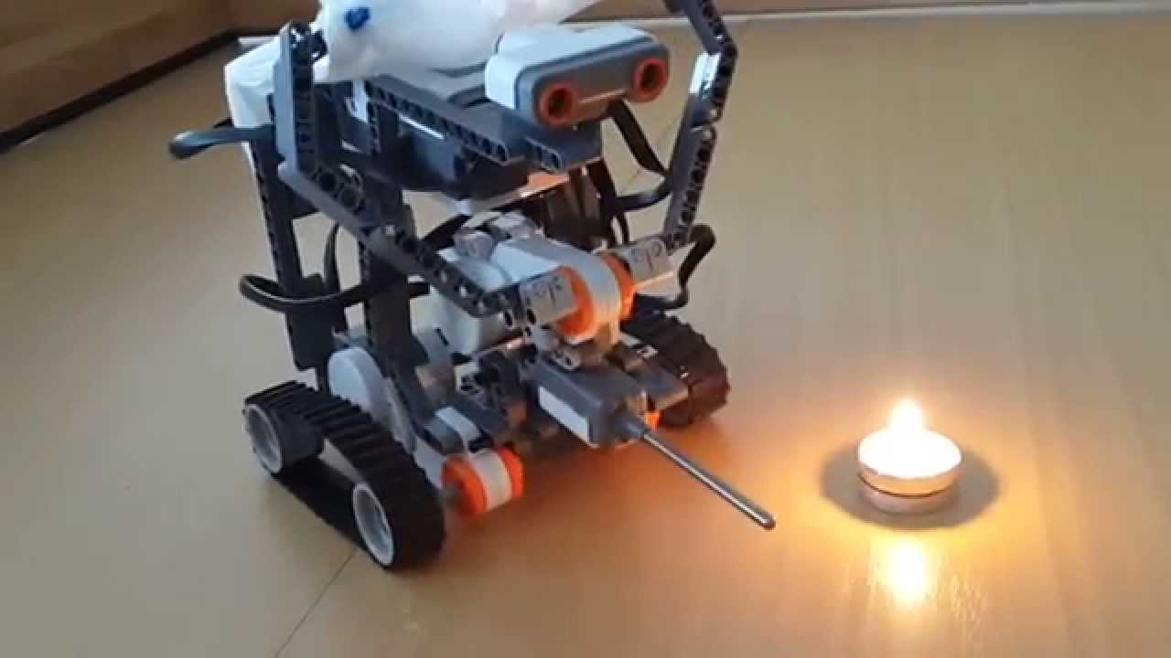 fire fighting robot thesis