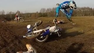 Broke My Arm Motocross Crash!