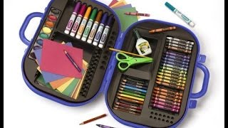 Review: Crayola Ultimate Art Case With Easel (color May Vary), (04-5674)