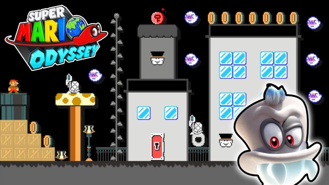 4 More Super Mario Odyssey Level Mods for Super Mario Maker!