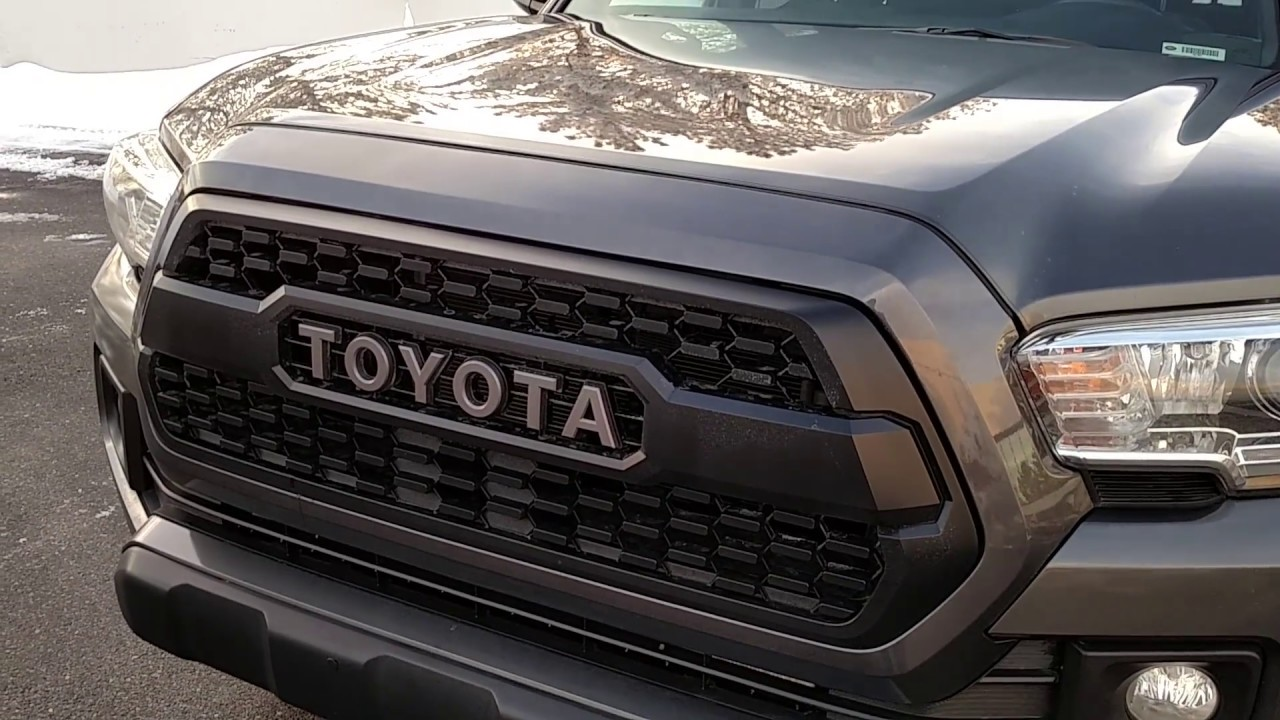 2016 Toyota Tacoma Simple Modifications Trd Off Road Youtube