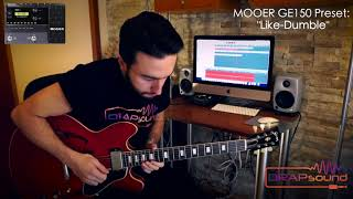 "Luca Privitera plays Mooer GE150 Preset: ""Like-Dumble"""