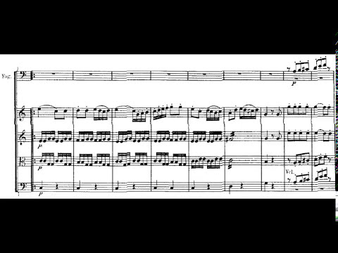 Beethoven: Symphony no. 1 (with score)