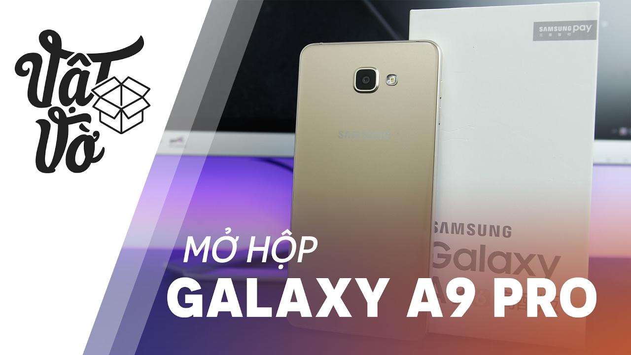 Vật Vờ| Galaxy A9 Pro xách tay lựa chọn thay thế Galaxy Note 5: Snap 652, 4GB RAM