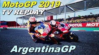 Argentina MotoGP 2019 |  Championship #2 | TV REPLAY  |  PC GAME MOD 2019
