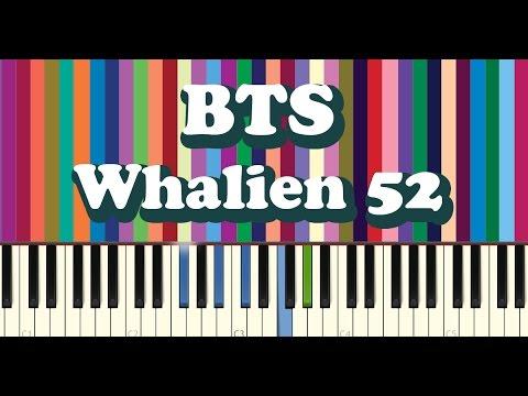 BTS(방탄소년단) - Whalien 52 piano cover