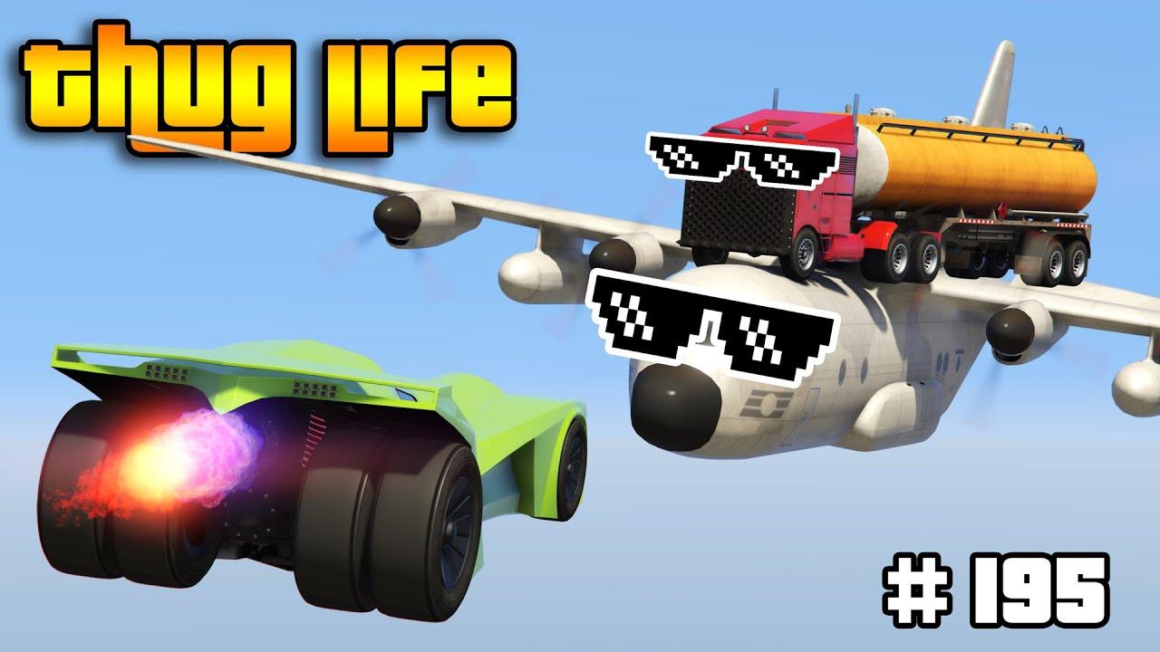 GTA 5 THUG LIFE AND FUNNY MOMENTS (Wins, Stunts and Fails #195) thumbnail