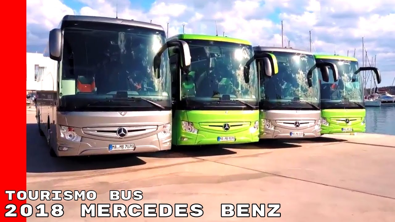 2018 Mercedes Benz Tourismo Bus - YouTube
