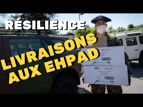 [Résilience] Livraison de matériel médical par le 7e BCA