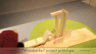 Woodpecker Project Prototype, By Momo & Angie.
